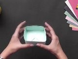 Make A Box With Sections - Part 1 - Origami In Hindi