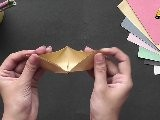Make A Simple Boat - Origami In Hindi