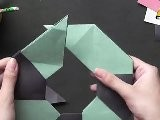 Make An 8 Point Star - Origami In Hindi