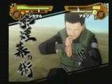 Narutimate Accel 2 Nara Shikamaru VS Asuma Sarutobi Extreme