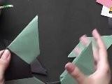 Origami In Gujarati - Make An 8 Point Star