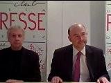 Pierre MOSCOVICI Au Club De La Presse Metz