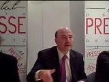 Pierre MOSCOVICI Au Club De La Presse Metz 2