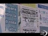 Portici: Funerali In Offerta Speciale... Colpa Della Crisi. Insolite Affissioni Per Esequie Low Cost: Sconti Fino Al 50%