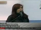 Presidenta Fern&aacute Ndez Inaugura Nueva Universidad