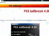 PS3 4.00 Jailbreak 4.00 Firmware FREE CL&acute S
