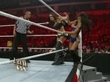 Raw 21.02.11: Eve & Gail Kim Vs. The Bellas