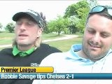 Robbie Savage And Darren Fletcher Preview Man Utd V Chelsea