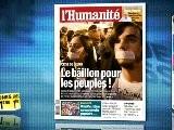 Revue De Presse Unes 1&egrave Re - 14 Novembre 2011