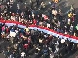 Raw Video: Street Clashes In Tahrir Square