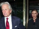 Red Hot Catherine Zeta-Jones And Michael Douglas Coordinate Outfits