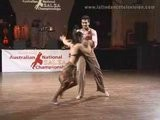 Sujit And Mary Grace Winning Salsa From The ASC 2006
