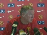 Sir Alex Ferguson Refuses To Talk About Tevez Contract