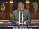 Sarko-UMP Vs Salaires+ Alain Vidalies 30-04-2009