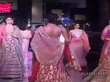Sexy Dia Mirza & Zayed Khan Walk On Ramp For Adarsh Gill At Bridal Fashion Week