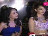 Sexy Kangna Ranaut Walks On Ramp At Aamby Valley Indian Bridal Week 2011