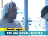 Savage - Aston Villa V Newcastle
