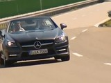 The Mercedes Benz SLK Roadster At MercedesCup 2011