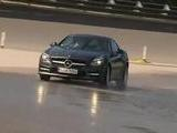 Tennis Players Test The Mercedes Benz SLK Roadster