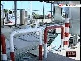 TG 09.08.10 Casello Bari Nord, Cassaforte Rubata Con Una Pala Meccanica