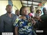 Visite Des &eacute Tablissements Scolaires De Pointe-Noire Par Rosalie Kama