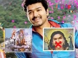 Vijay Upset With Fans For Depicting Him As God
