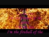 Willow Smith Feat. Nicki Minaj - Fireball Lyrics On Screen
