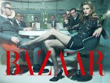 Yulia Kharlapanova In Risky Business For Harper&#039 S BAZAAR En Espa&ntilde Ol By Benjamin Kanarek - HD 720p