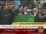 Imran Khan Addressing In Rawalpindi