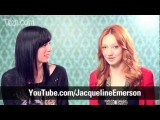 Jacqueline Emerson Hunger Games Interview: Playing Foxface