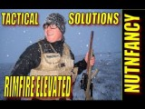 Tactical Solutions .22 Testing In Snow, Pt 1 By Nutnfancy