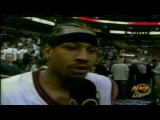 Allen Iverson 55pts Vs Hornets 02 03 NBA Playoff *76ers Record *Better Quality