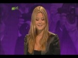 Holly Valance - Celebrity Juice 9 9 2010 Part 1 3