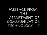 DOCTA Message From The Department Of Communication Technology Arts Comedy