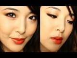 Juicy Orange Spring Makeup Tutorial