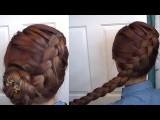 The Hunger Games Katniss Dutch Braid + Spring LowDo