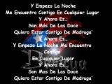 Letra Lyrics @ Daddy Yankee Ft Omega El Fuerte - Estrellita De Madrugada