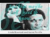 Don't Know Much By Linda Ronstadt And Aaron Neville