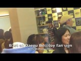 B2st At Daegu Be@toy Fan Sign - Kiwoon 281011