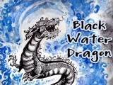 Black Water Dragon - Time Lapse Painting