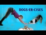 Dog Aerobics- Crazy Dog Tricks