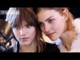 Freja Beha Erichsen, Top Runway Model - With Arizona Muse | FashionTV - FTV