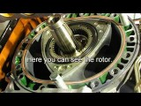 OS NSU Wankel Rotary Engine Powered Vintage Flying Wing. Assembly And Flight By NightFlyyer