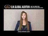 2012 SM GLOBAL AUDITION ARTIST Message Ver.INTL