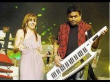 Natalie With AR Rahman In Bangalore Behind-the Scenes