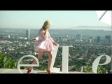 Elle Fanning On The Set Of Her Teen Vogue Covershoot