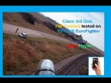EF-2000 EuroFighter Typhoon Jet With HD 3rd Gen. Cisco FLIP Camera Footage