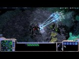 Starcraft 2 Match - 2v2 Protoss, Terran And Zerg Change Games ESport Friends