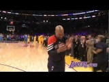 Standing Ovation For Derek Fisher