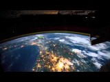 ISS Flying Over The Earth Auroras & Lightning Jonn Serrie - Welcome Home HD